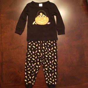 Gymboree sz 12-18 mo Halloween pajamas